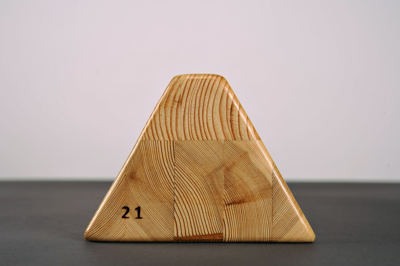 Special triangular yoga block photo 4