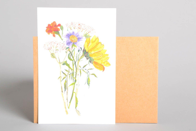Handmade greeting card souvenir ideas designer postcard paper greeting card photo 2