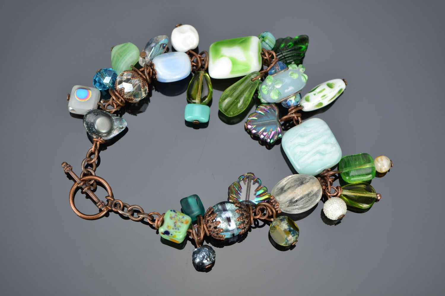 Bracelet with charms photo 2