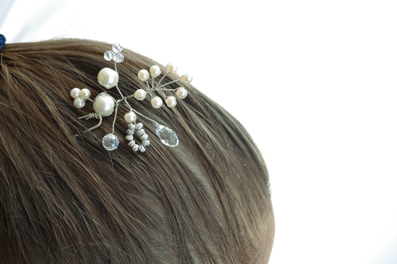 Handmade hairpin photo 5