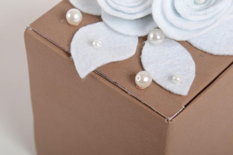 Boîte Cadeau Fait Main Emballage Cadeau Petit Carton Design Idée De Cadeau