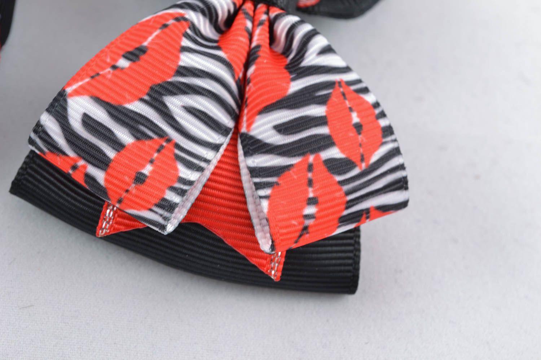 Hair ribbon bow photo 3