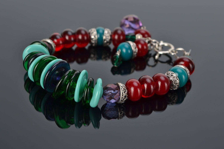 Festive glass bracelet photo 2