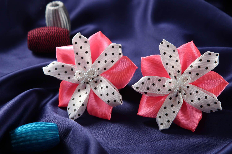 gomas /Coleteros Gomas para el pelo artesanales accesorios para el cabello regalo original flor ,