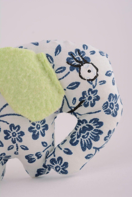 Textile toy Flowered Elephant photo 2