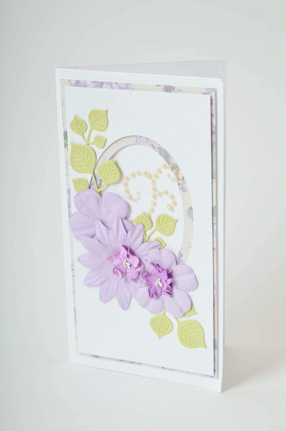 Handmade greeting card birthday card thank you card handmade gifts souvenir idea photo 2