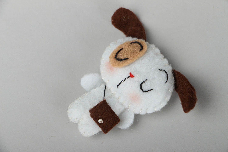 Handmade brooch Sleepy photo 1