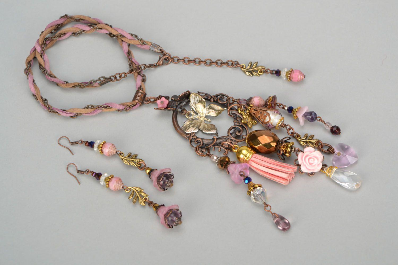 Set of handmade jewelry photo 3