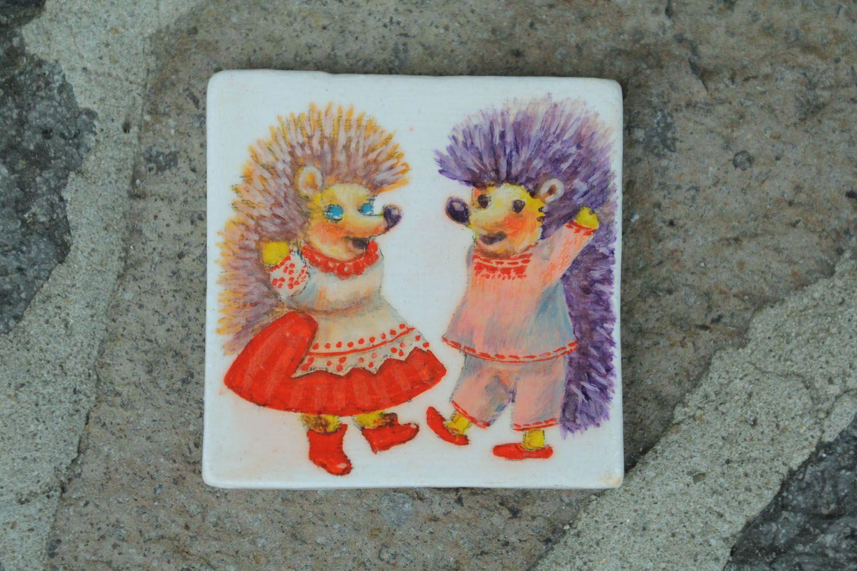 Ceramic fridge magnet photo 1