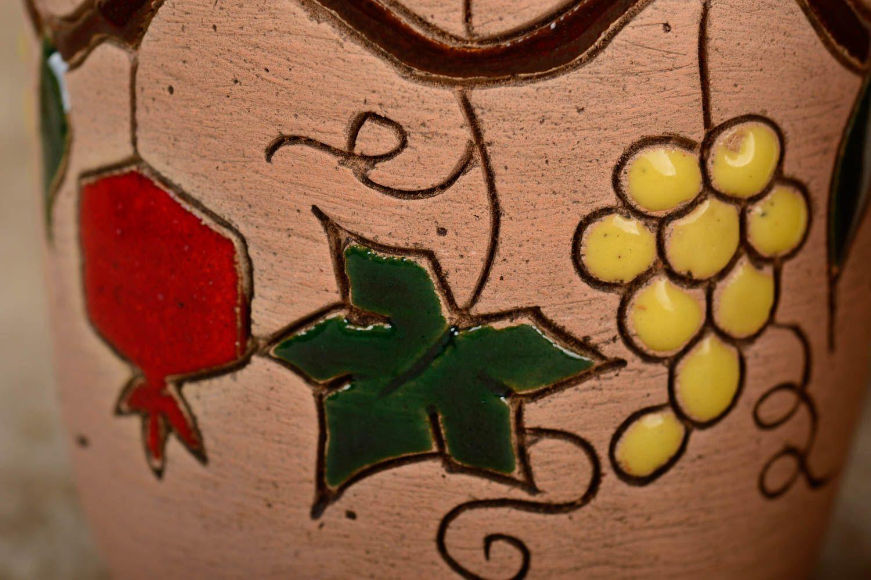 Ensemble de verres fait main Verres à eau Vaisselle design belle originale photo 4