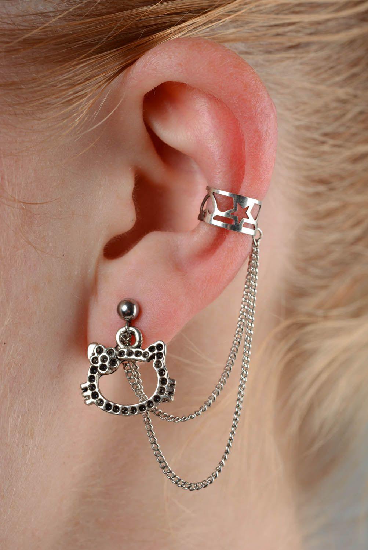 Metal ear cuffs  photo 2
