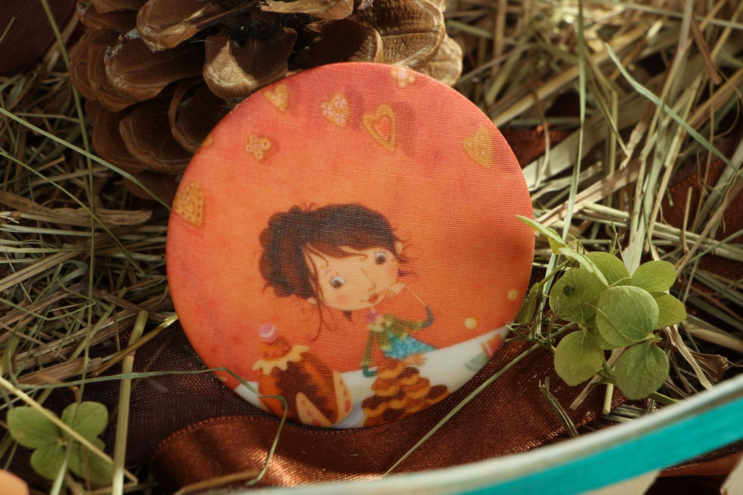 Badge with photo print photo 5