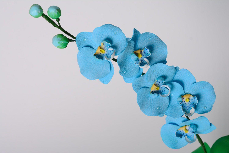 цветы из фоамирана орхидеи фото может