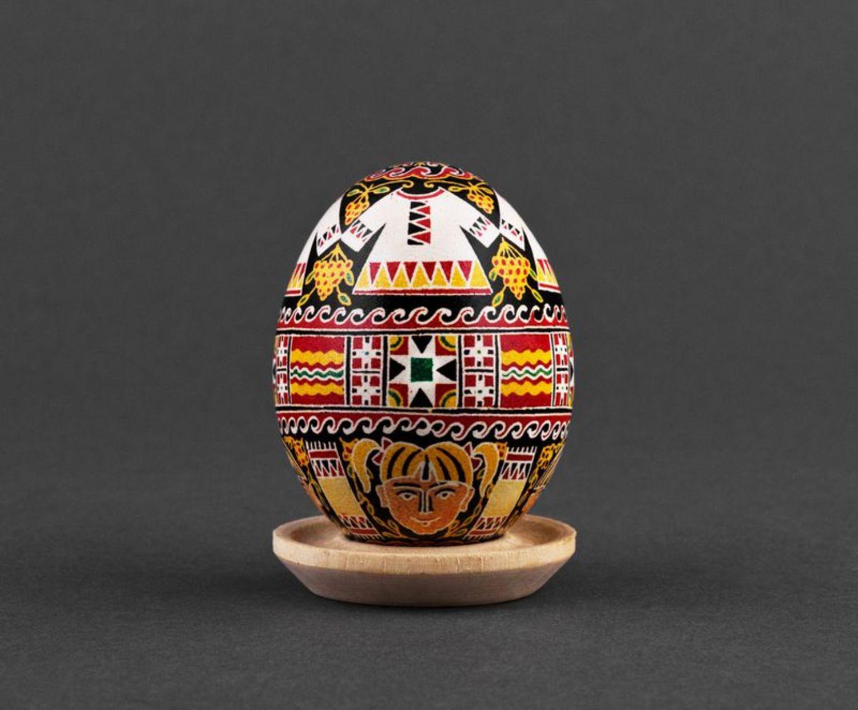 chicken easter eggs Ukrainian painted Easter egg - MADEheart.com