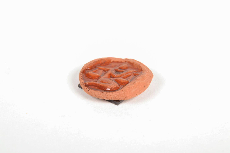 Ceramic fridge magnet Libra photo 3