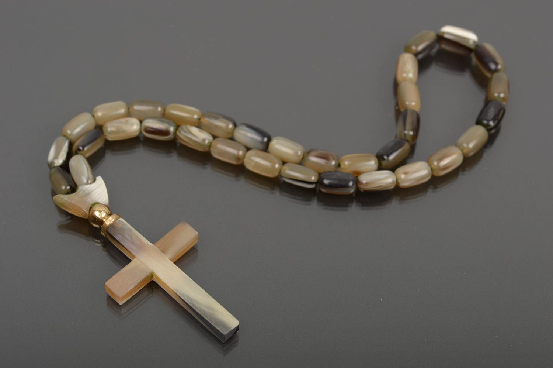 rosary beads Religious jewelry handmade prayer rope pray rosary designer accessories men gift - MADEheart.com