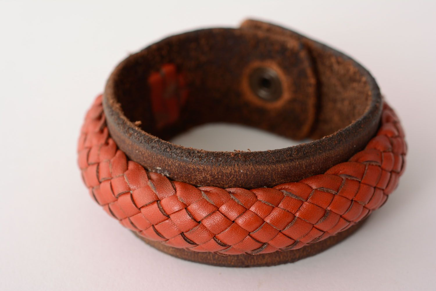 Leather bracelet photo 1