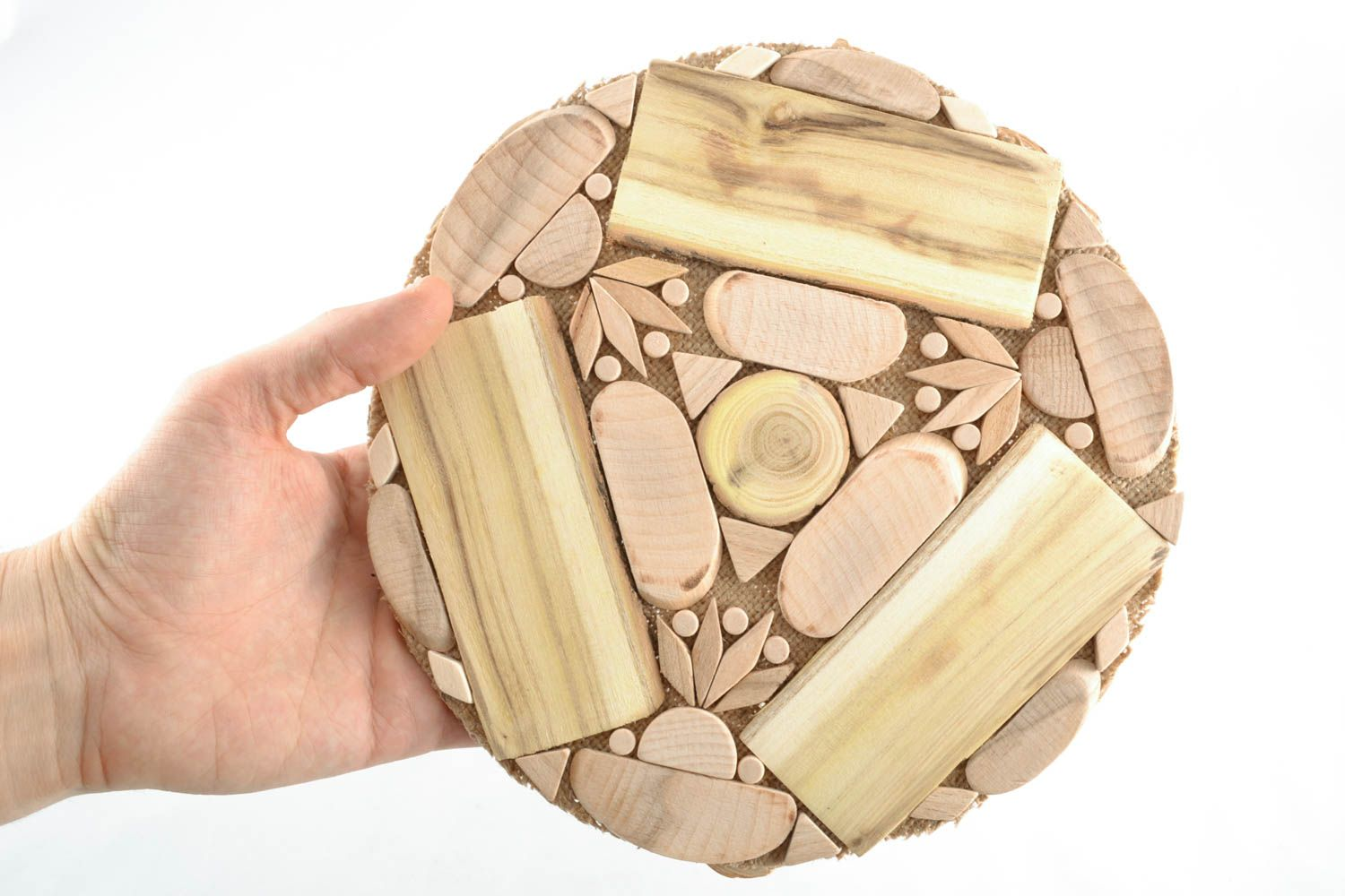 holders Wooden heat resistant coaster - MADEheart.com