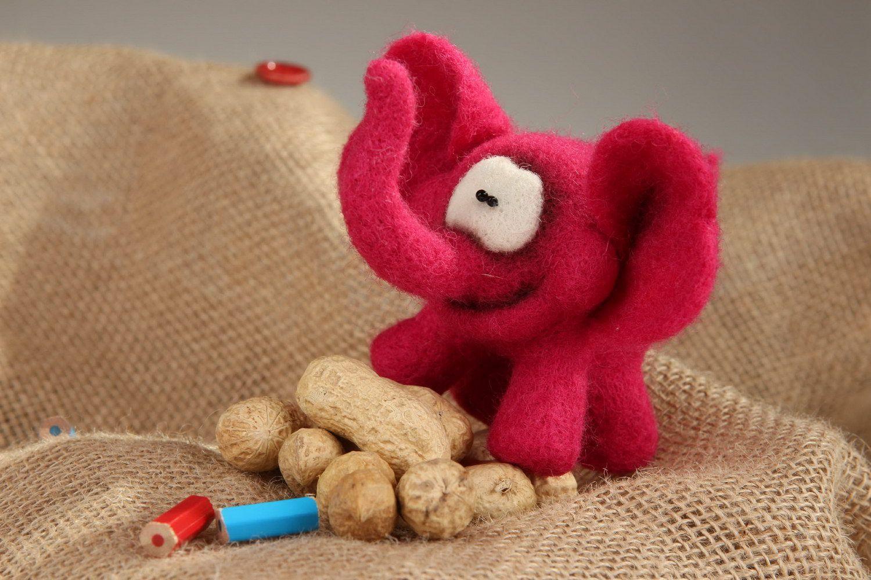 Soft toy Pink elephant photo 5