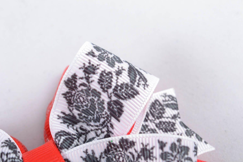 Schleife für Haarspange aus Bändern Amerika foto 1