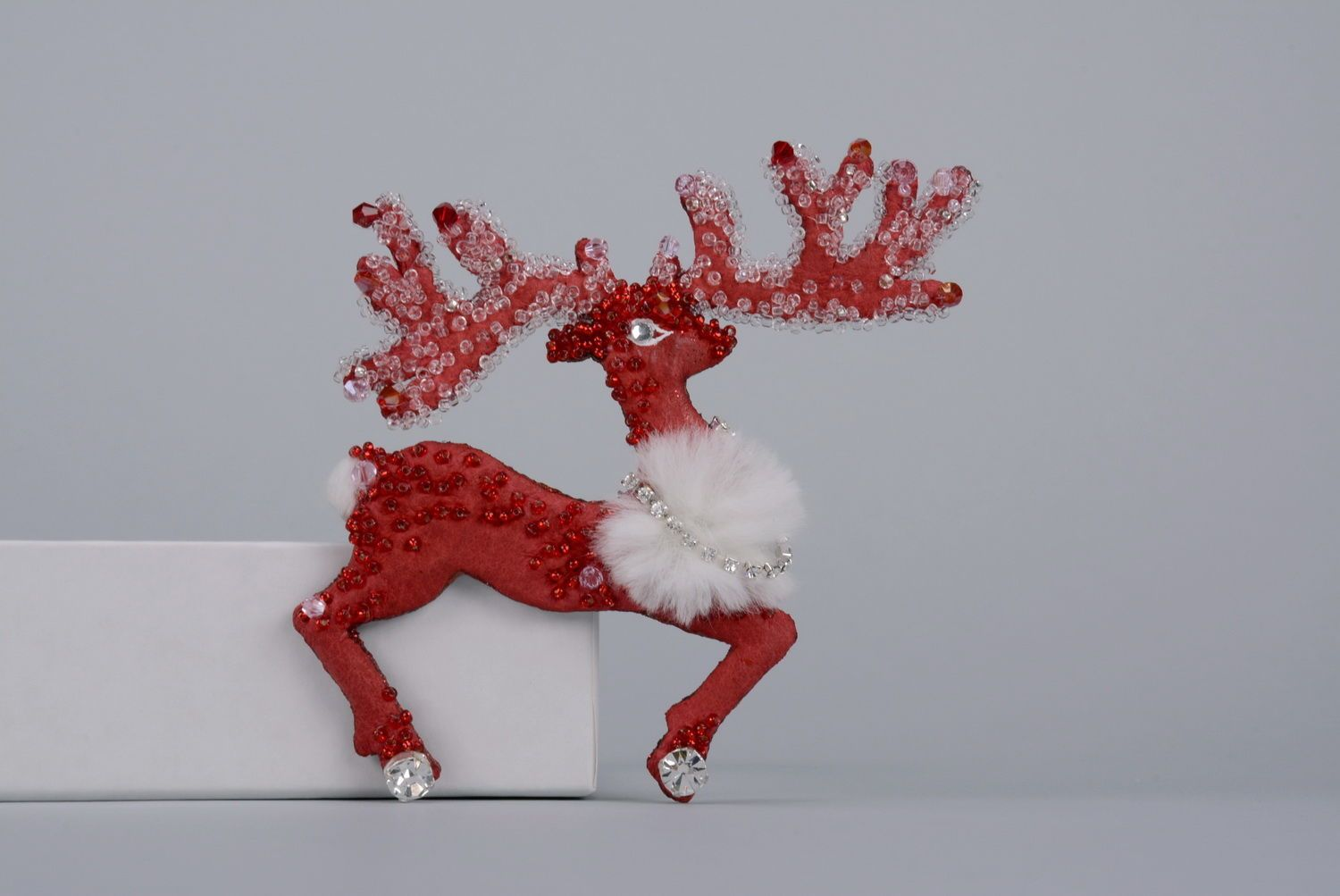 Brooch Reindeer photo 1