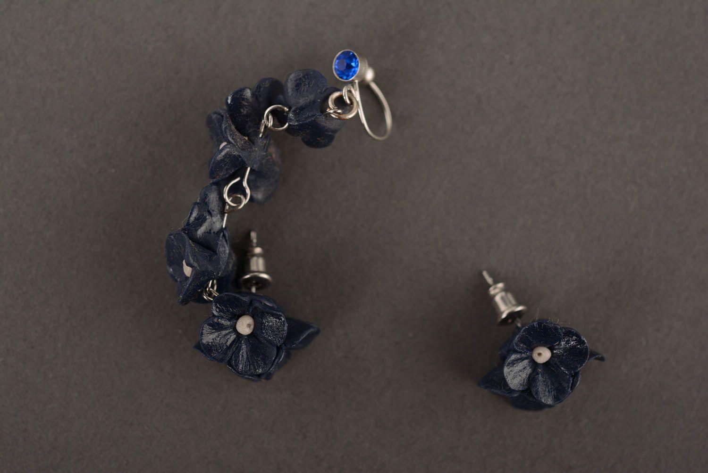 Designer's cuff earrings Twilight photo 2