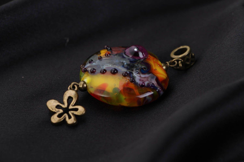 Handmade Anhänger Purpurwolken foto 2