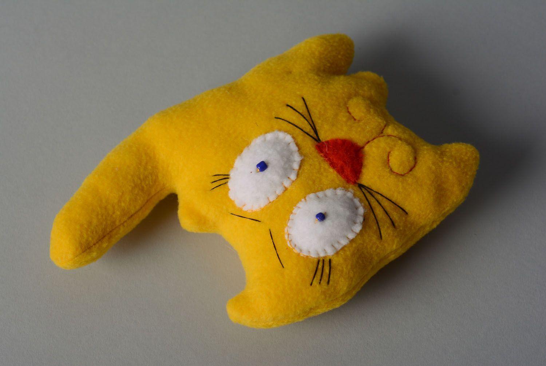 Soft toy Yellow Cat photo 5