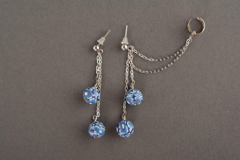 Tender cuff earrings Blue Horizon photo 2