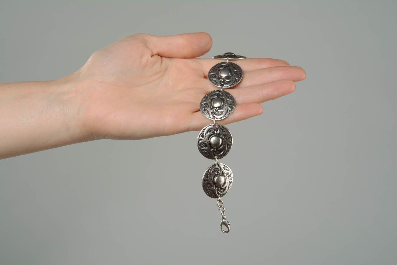 Metal bracelet in ethnic style photo 3