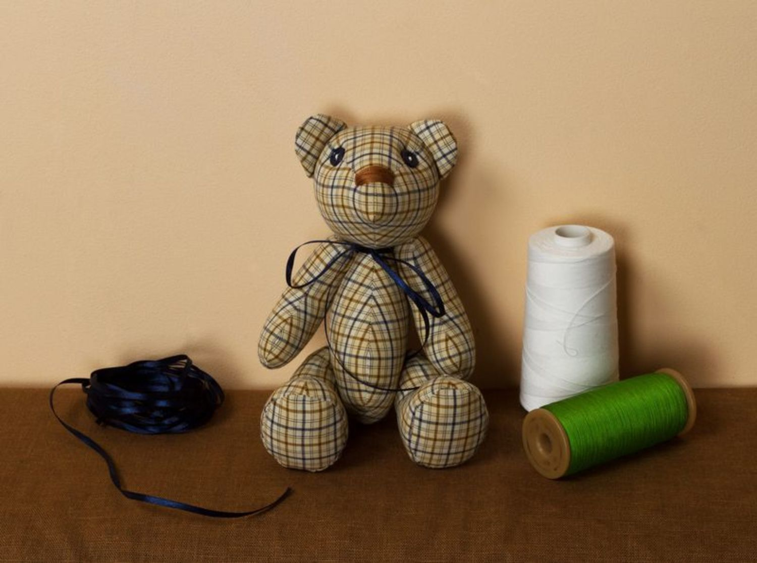 teddy bears Handmade soft toy stuffed animals classic toys kids toys for decorative use only - MADEheart.com