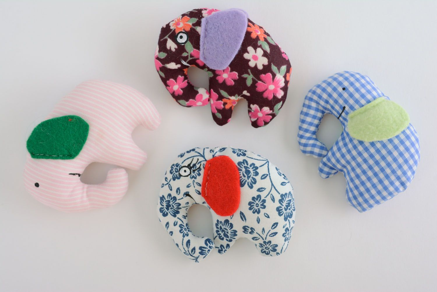 Soft toy in the shape of elephant photo 5