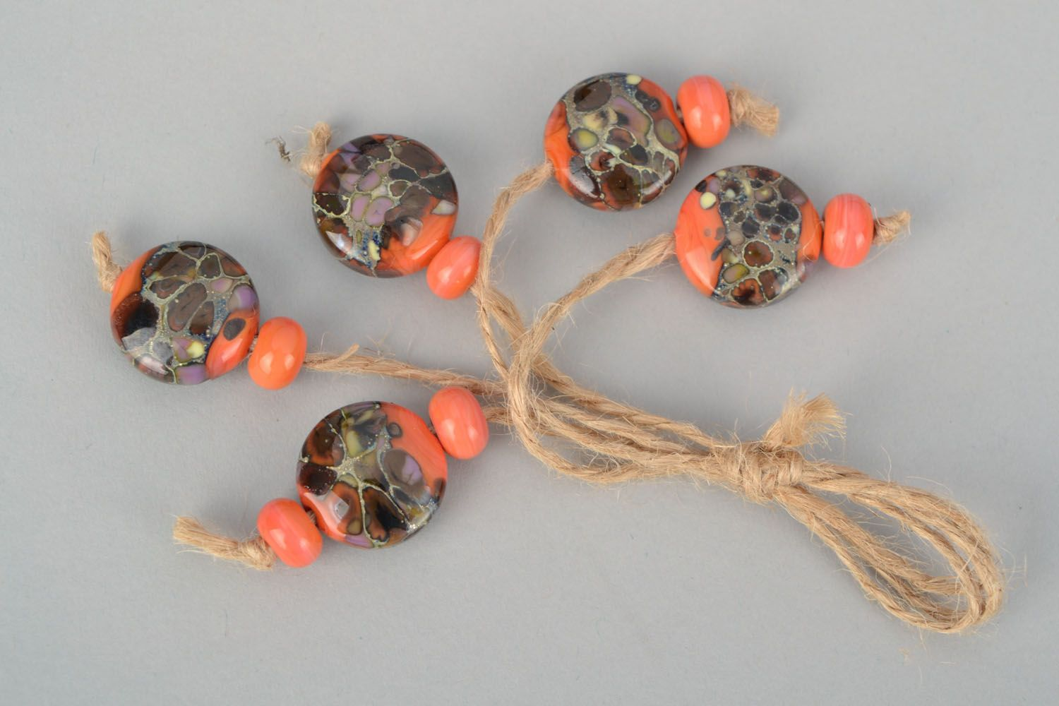 Set of beads for creative work photo 1