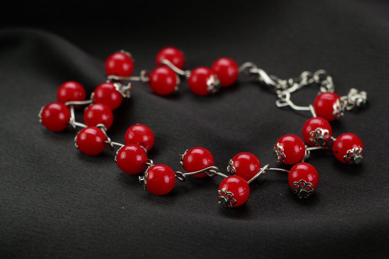Unusual handmade bracelet photo 2