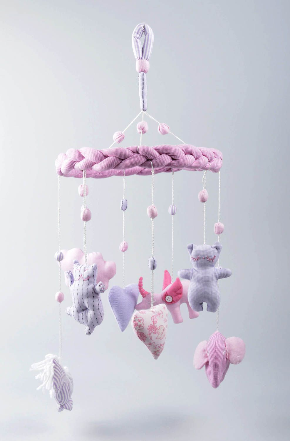 Madeheart unusual handmade crib toy baby mobiles baby for Unusual baby mobiles