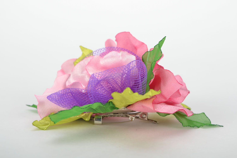 Brooch-hair pin Pink Dream photo 4
