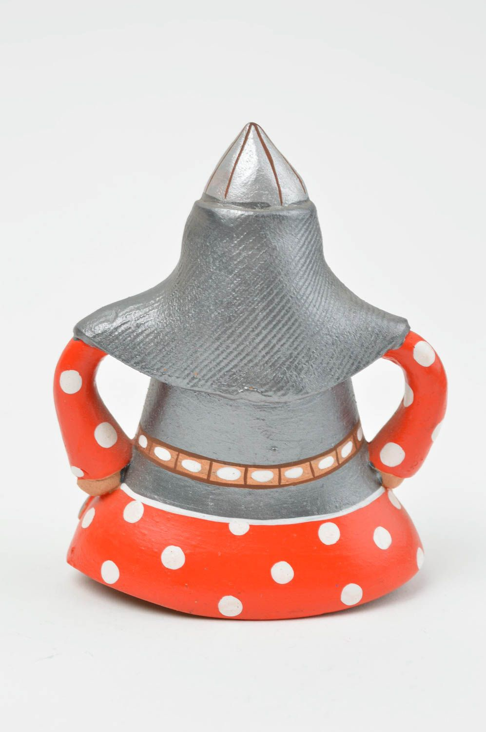 Stylish clay bell painted interesting accessories beautiful interior decor photo 3