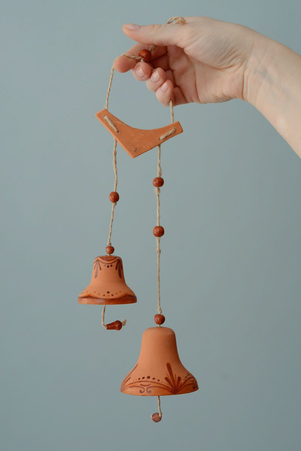 Set of ceramic bells photo 4