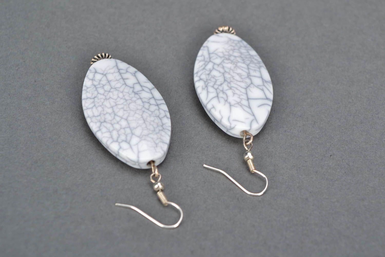 Homemade long earrings photo 4