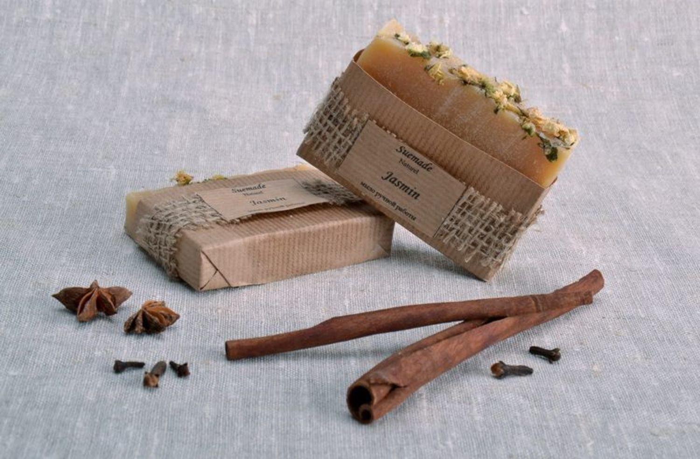 Handmade soap with jasmine photo 5