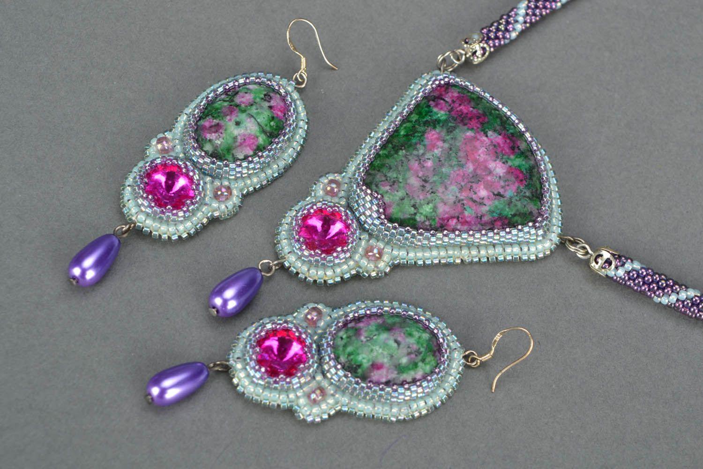 Homemade jewelry set Sultana photo 5