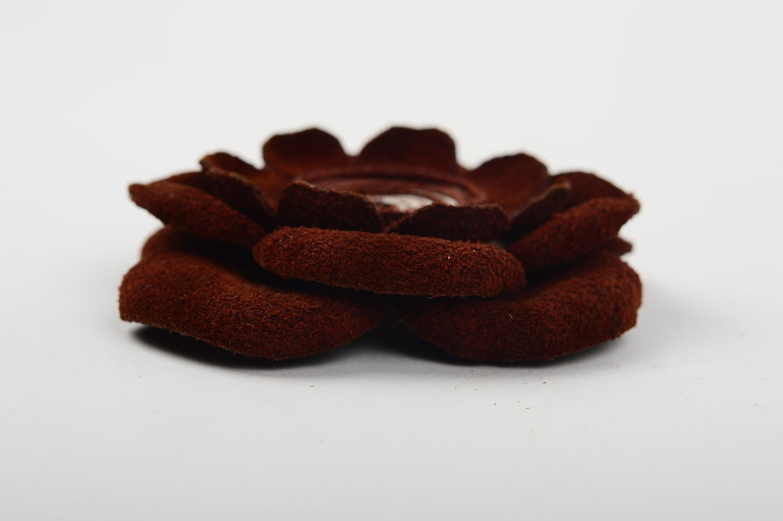 f4ce76f6e3b abstraction brooches Handmade leather brooch unusual flower brooch  beautiful elegant brooch - MADEheart.com