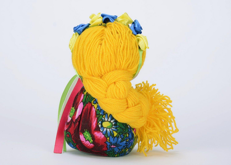 Sachet doll made from natural fabrics photo 3