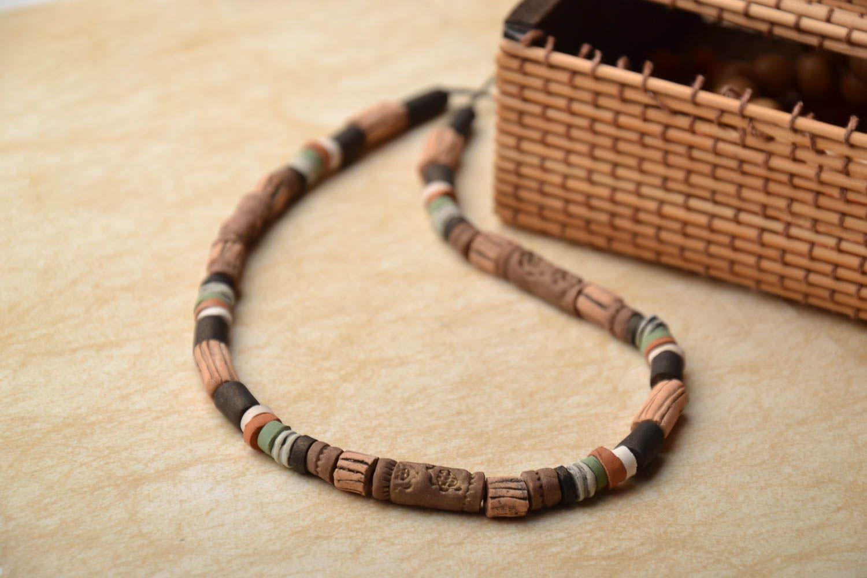 Designer ceramic necklace photo 1