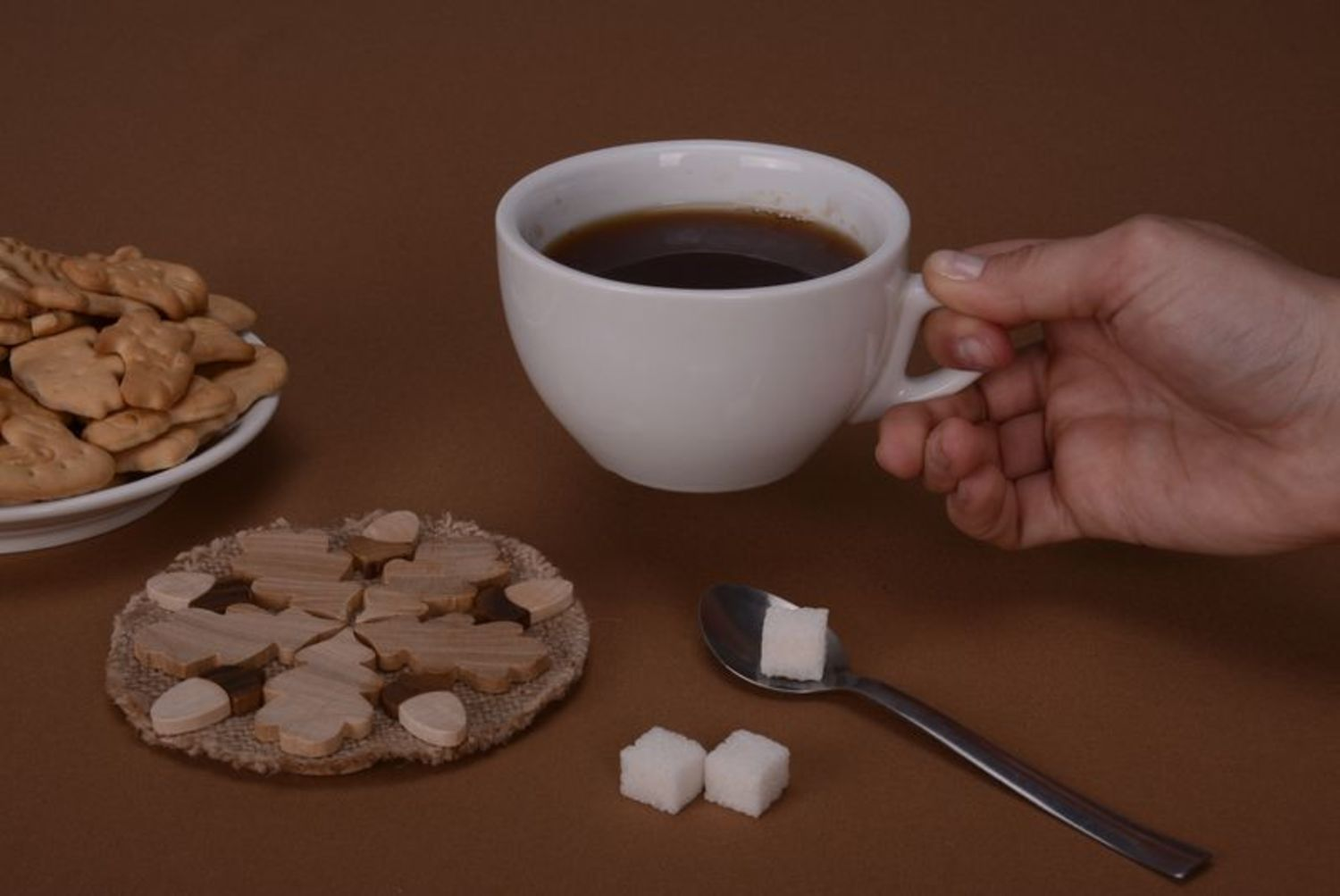 Large coaster for hot dishes photo 2