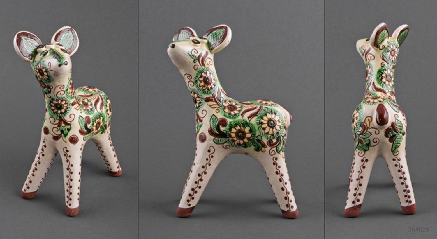A set of clay figurines Baby Deers photo 2