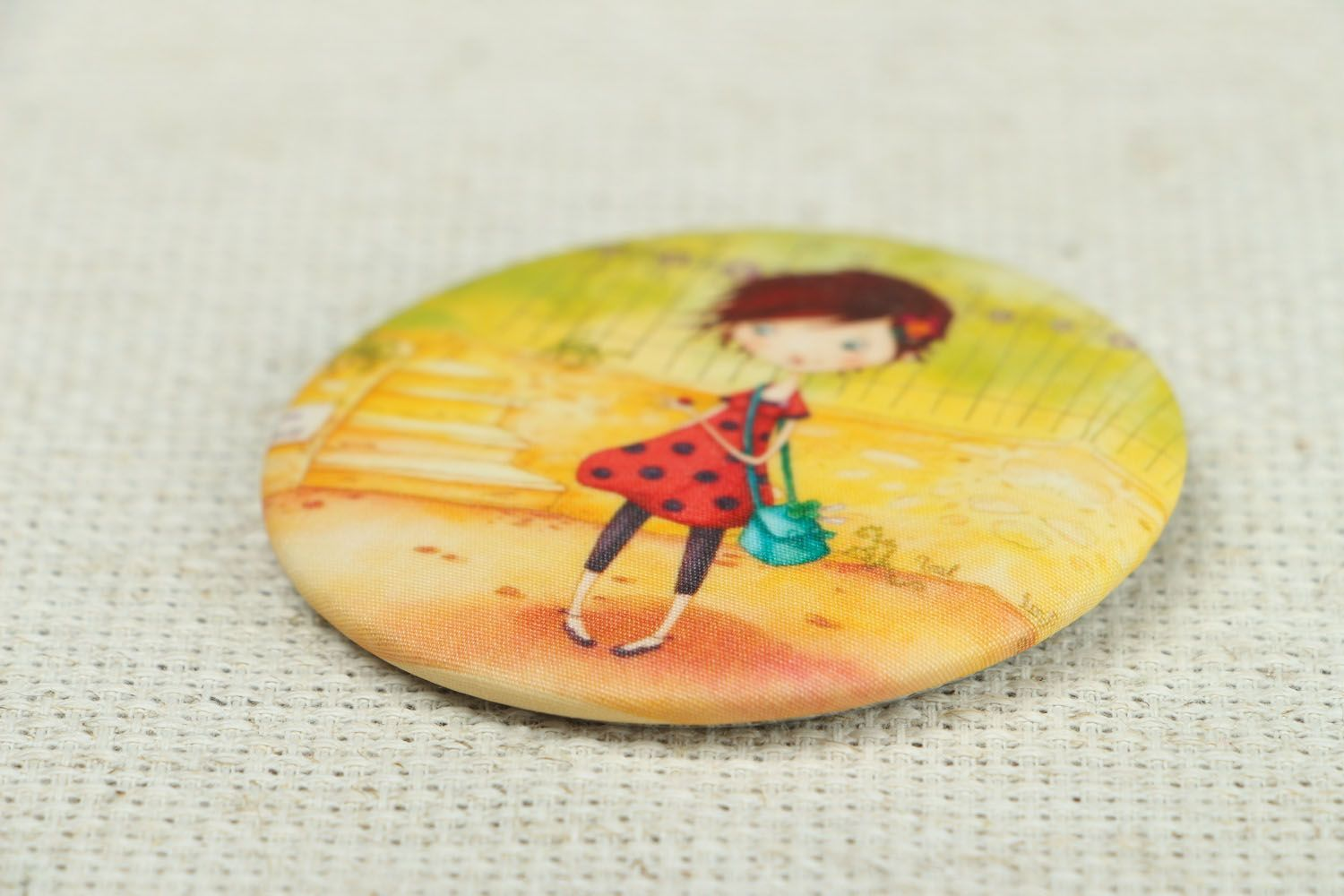 Metal badge for outwear photo 2