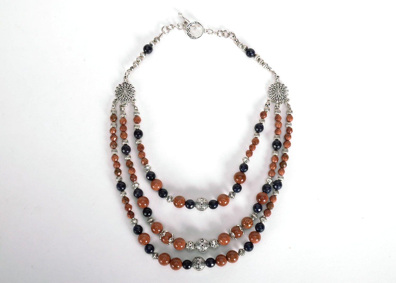 Necklace with aventurine photo 2