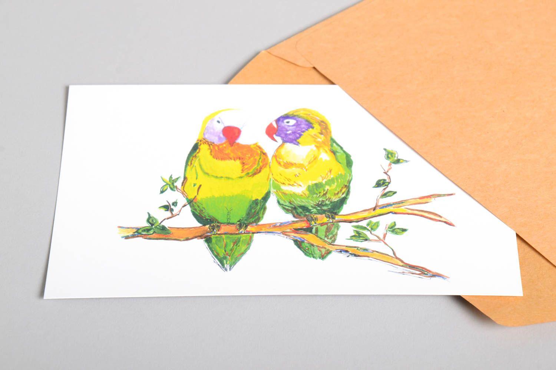 Handmade card unusual greeting card designer card collectible card handmade gift photo 5