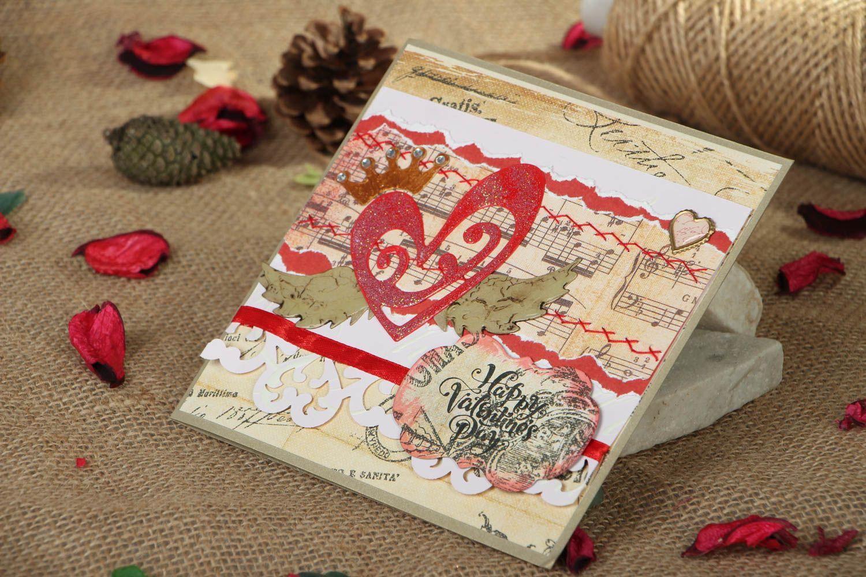 Greeting card St. Valentine's Day photo 5